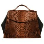 Javin Brown Python Uptown Bag