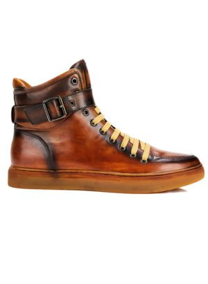 JUMP New York Sullivan Tan High Top Sneaker