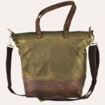 Kiko Leather Olive Boyfriend Tote