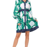 TOV Green Dandy Dress