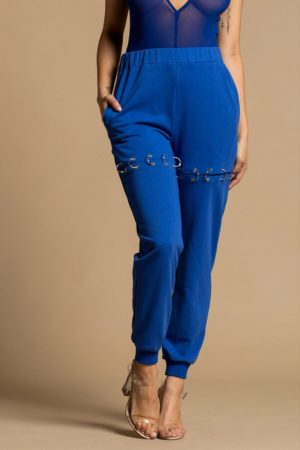 Rehab Royal Ring Trimmed Sweatpants