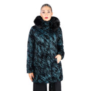 Fontana 2.0 MARGARET Long Down Jacket for women