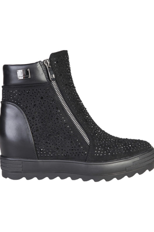 Laura Biagiotti 2145 Black Ankle Boot