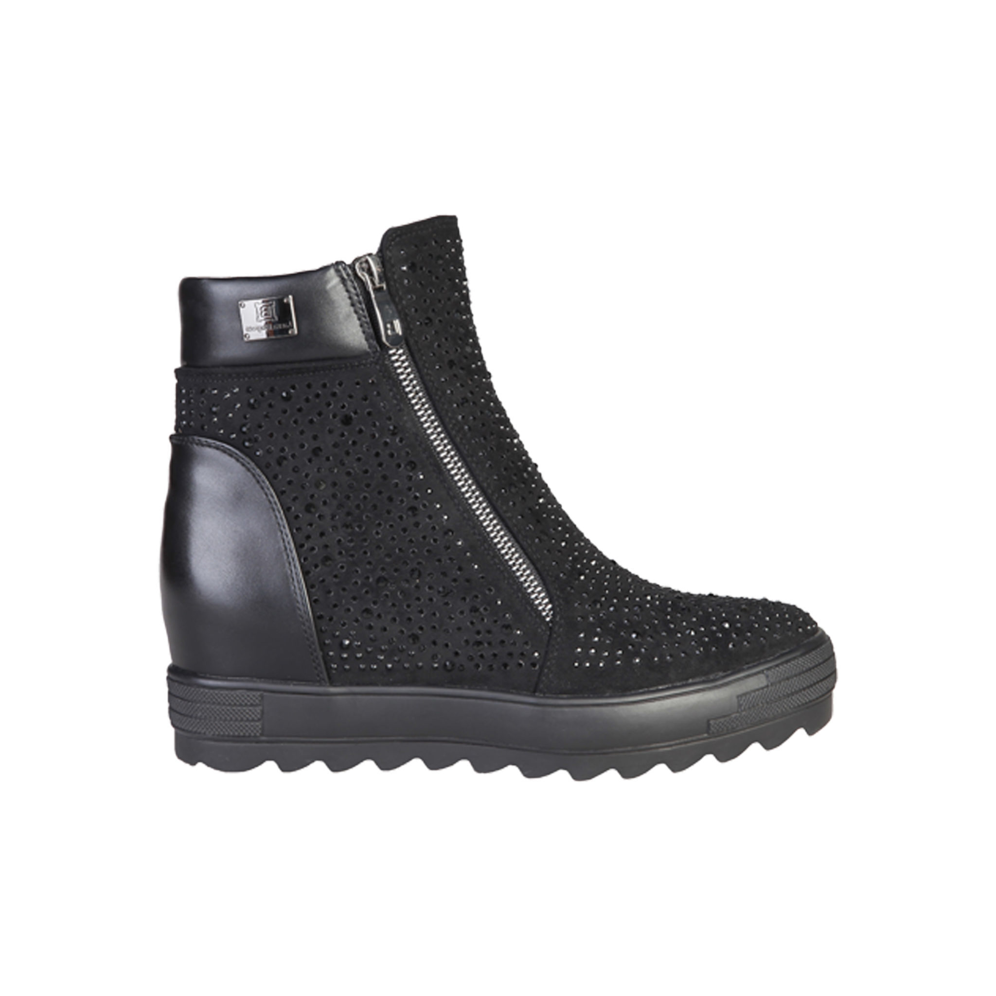ef6b61cf12f881 Laura Biagiotti 2145 Black Ankle Boot