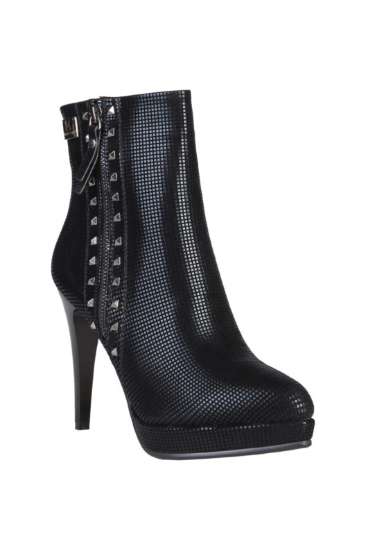 Laura Biagiotti 2181 Micro Stud Ankle Boot