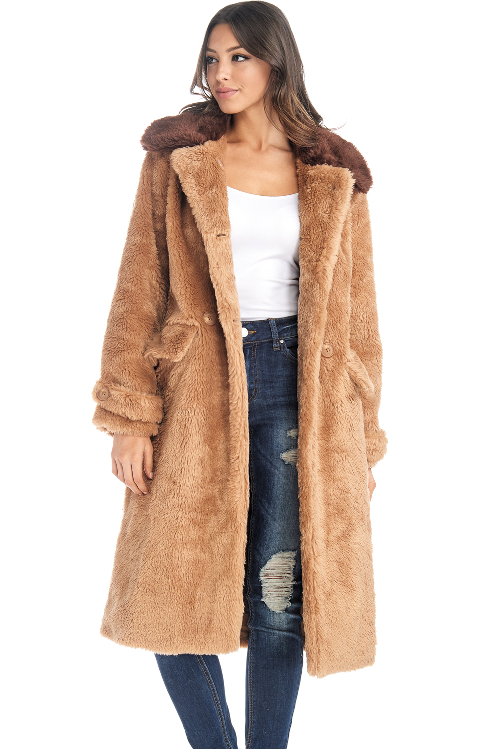 Find long sleeve faux fur jacket at ShopStyle. Shop the latest collection of long sleeve faux fur jacket from the most popular stores - all in one.